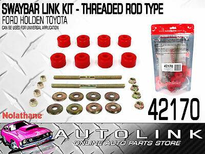 Nolathane Front Sway Bar Link Kit Suit Toyota Hilux Ln172 Rzn169 Rzn174 Vzn167