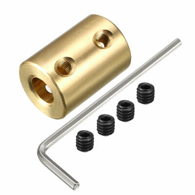 6mm to 7mm Bore Rigid Coupling 22mm Length 16mm Diameter Shaft Coupler Connector