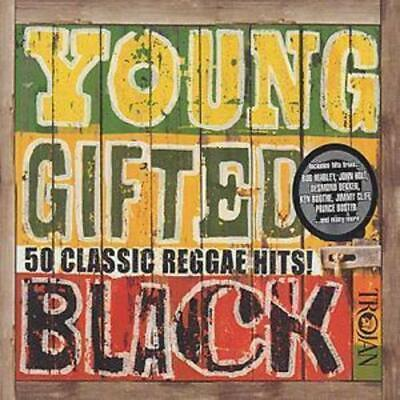 Various Artists : Young Gifted and Black: 50 Classic Reggae Hits CD (2002)