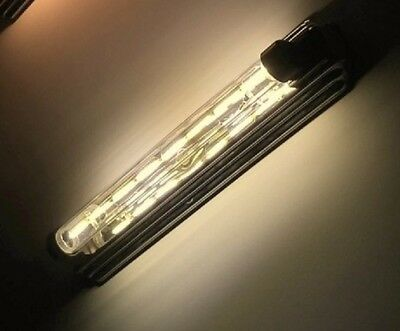 "RETRO~11.75""~Clear~vintage  FilamentLED LUMILINE~40W Equal ~(6W)~360 degree beam"