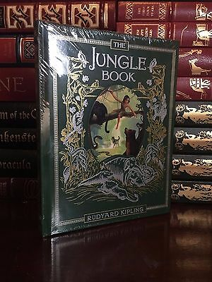 The Jungle Book by Rudyard Kipling New Sealed Leather Bound Collectible Gift