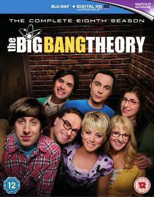 The Big Bang Theory: The Complete Eighth Season Blu-ray (2015) Johnny Galecki