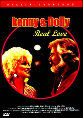 Kenny Rogers & Dolly Parton: Real Love DVD *NEW