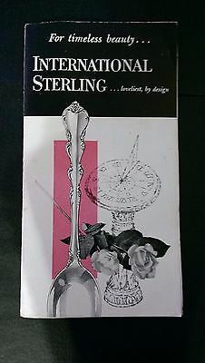 VTG International Silver Syle / price insert guide add VALUE to your collection