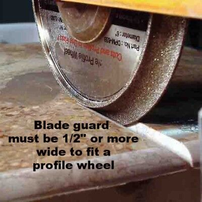 "10"" Vacuum Brazed Diamond Profile Wheel for Tile Saw/ B 1/2"" Demi Bullnose"
