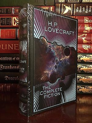 The Complete Fiction of H.P. Lovecraft New Sealed Leather Bound Collectible Gift