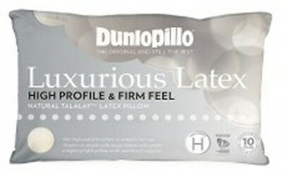 Dunlopillo-2 Pack Latex Luxurious Pillow High Profile & Firm Feel RRP $359.90