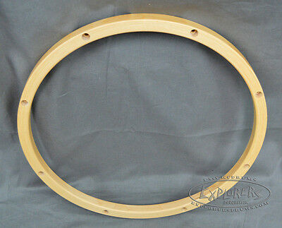 "Wood Drum Hoop 15"" 8 Lug 24 ply Wood Rim"