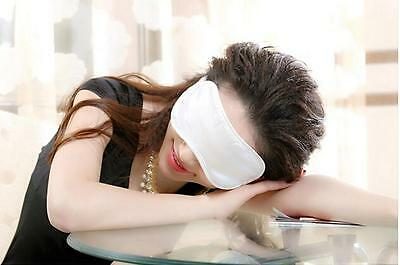 Travel Relax Blindfold Comfy Silk Cotton Sleeping Aid Eye Mask Cover Shade TOP H