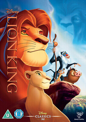 The Lion King DVD (2014) Roger Allers cert U Incredible Value and Free Shipping!
