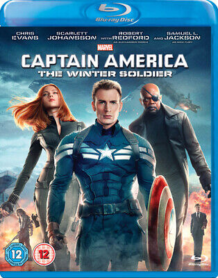Captain America: The Winter Soldier Blu-ray (2014) Chris Evans