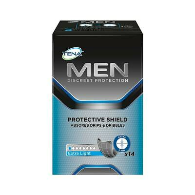TENA Men Protective Shield - Extra Light - Pack of 14