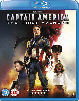 Captain America: The First Avenger Blu-Ray (2013) Chris Evans