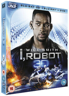 I, Robot Blu-ray (2012) Will Smith, Proyas (DIR) cert 15 FREE Shipping, Save £s