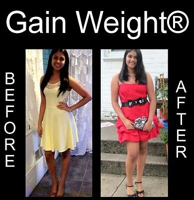 """""""Gain Weight®"""" gain muscle, be bigger, bulk out for skinny people 4 Month Course"""
