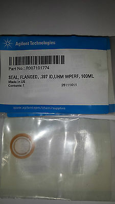 Agilent R007101774, Seal, Flanged, .397 Id,uhm Wperf, 100Ml