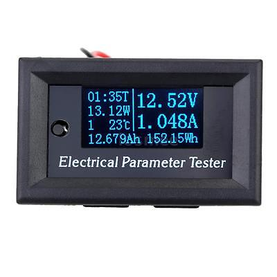 OLED 7-in1 Electrical Parameter Meter Voltage Current Temperature Tester LS P0UX