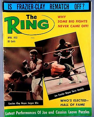 The Ring Magazine April 1972 Is Frazier-Clay Rematch Off