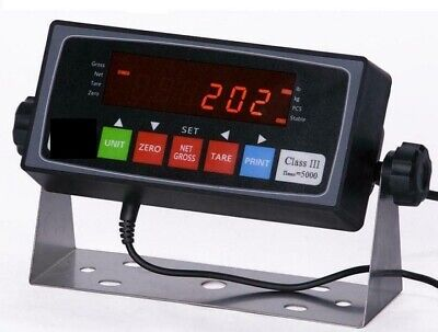 Scale Indicator LCD PS-202 NTEP Readout AC Adapter 110-240v,Rechargeable Battery