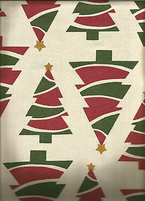 Well Dressed Home Printed Christmas Trees 60X102 Tablecloth