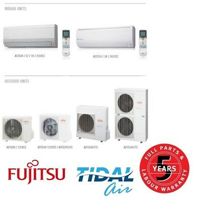 Fujitsu 2.5KW Inverter Split Air Conditioner Supply and Install ASTG09LVCC