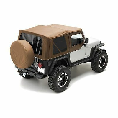 1997-2006 Jeep Wrangler Spice Replacement Soft Top & Tinted Windows Kit 9970217