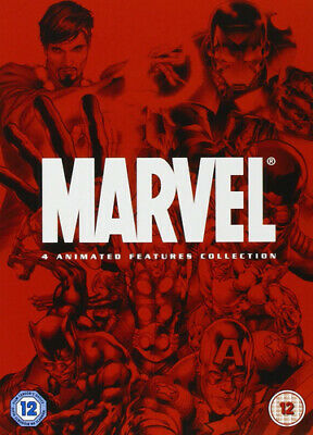 Marvel Animated Movie Collection DVD (2008) Curt Geda