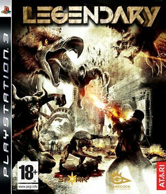 PlayStation 3 : Legendary (PS3) VideoGames