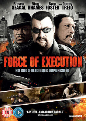 Force of Execution DVD (2014) Steven Seagal