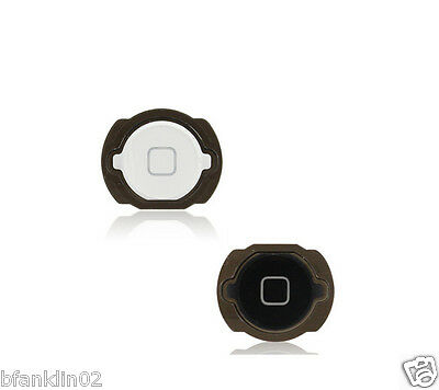 iPod Touch 4th Gen Home Menu Button Switch With Seal and Spacer Black and White