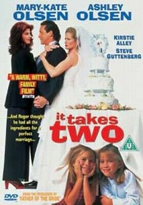 It Takes Two DVD (2004) Kirstie Alley