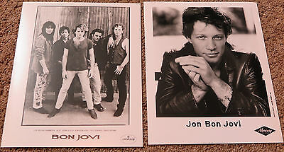 Bon Jovi - Collection of photos, guitar picks, tour passes