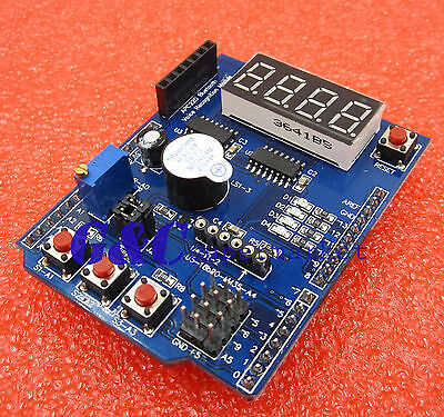 Multi-functional Expansion Board Shield for Arduino UNO R3