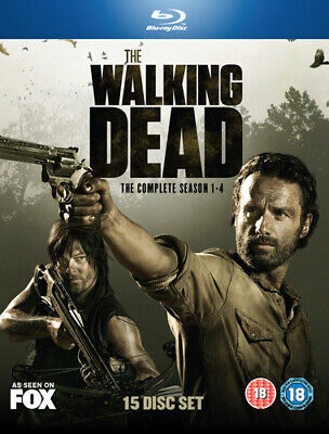 The Walking Dead: The Complete Season 1-4 Blu-ray (2014) Andrew Lincoln