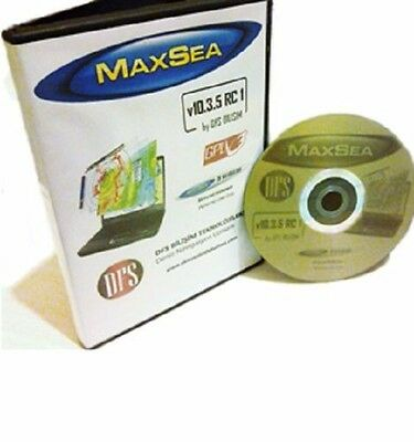 MaxSea Marine Navigation ECDIS Chartplotter for Boats,Fishers,Merchant Vessels