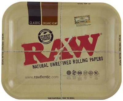Deluxe Raw Cigarette Tray Kit - Grinder, 2 Rolling Machines,  Papers, & Tubes