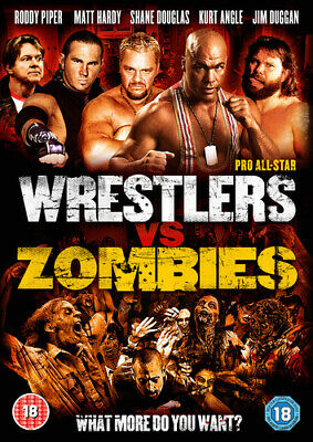 Pro All-star Wrestlers Vs Zombies DVD (2015) Roddy Piper