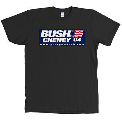 Bush Cheney 04 Republican T Shirt George W 2004 Tee NEW WITH TAGS