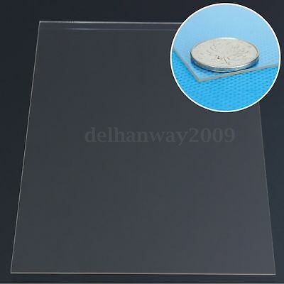 2 Sizes 1mm Sheet Clear Acrylic Perspex Cut Insulation Plexiglass Replacement
