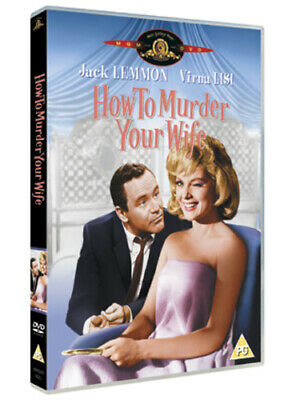 How to Murder Your Wife DVD (2005) Jack Lemmon