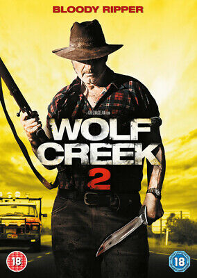 Wolf Creek 2 DVD (2014) John Jarratt