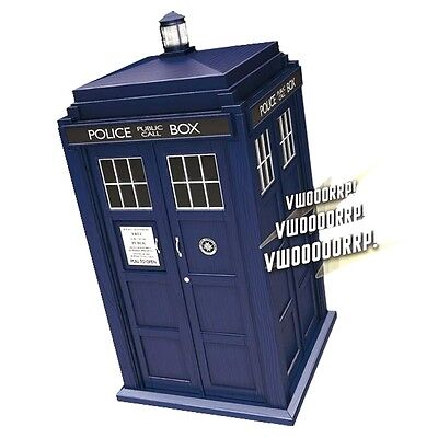 Official Doctor Who TARDIS SFX Cookie Jar with Light and Sound - Boxed Storage