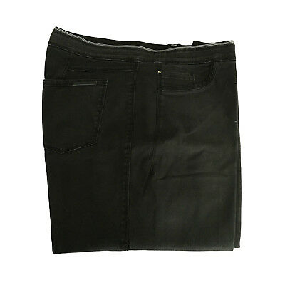 ELENA MIRO' women's trousers with elastic black with wash used