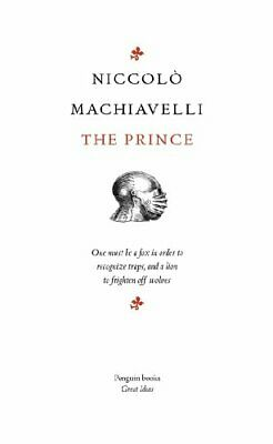 Penguin Great Ideas : The Prince by Machiavelli, Niccolo Paperback Book The