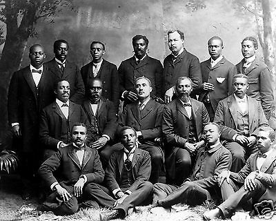 African American Men, Roger Williams Univ.-Nashville, TN- Ministers' class 1899