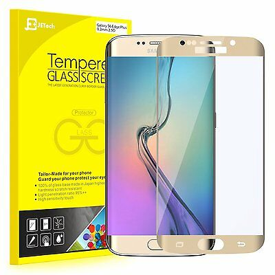 JETech 0881 Samsung Galaxy S6 Edge Plus Screen Protector Film Tempered Glass