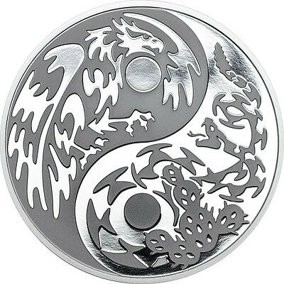 1 x 2016 $5 Cook Islands 1oz Silver Coin - Predator Prey III - Eagle vs Snake