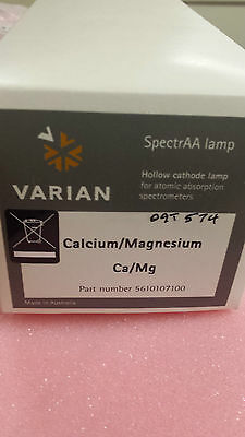 Varian 5610107100. Calcium/magnesium coded multi-element hollow cathode lamp