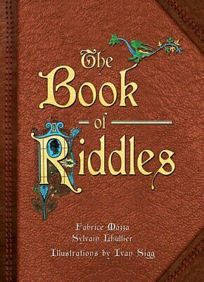 Book of Riddles by Sylvain Lhullier Book The Cheap Fast Free Post