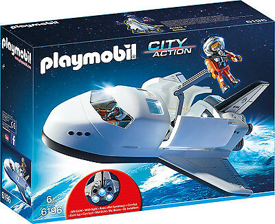 Playmobil - City Action - 6196 - Space Shuttle - NEU OVP